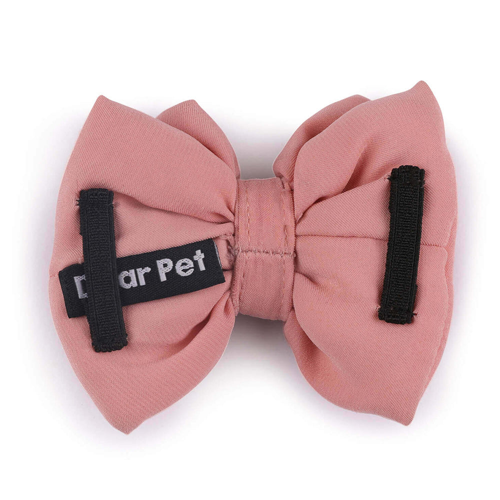 Dear Pet Peach Shaded Bow (Detachable)