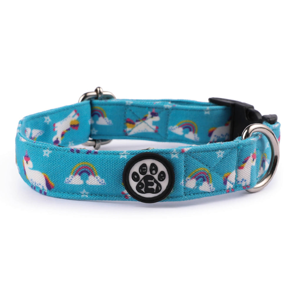 Dear Pet Majestic Unicorns Dog Collar & Leash Set