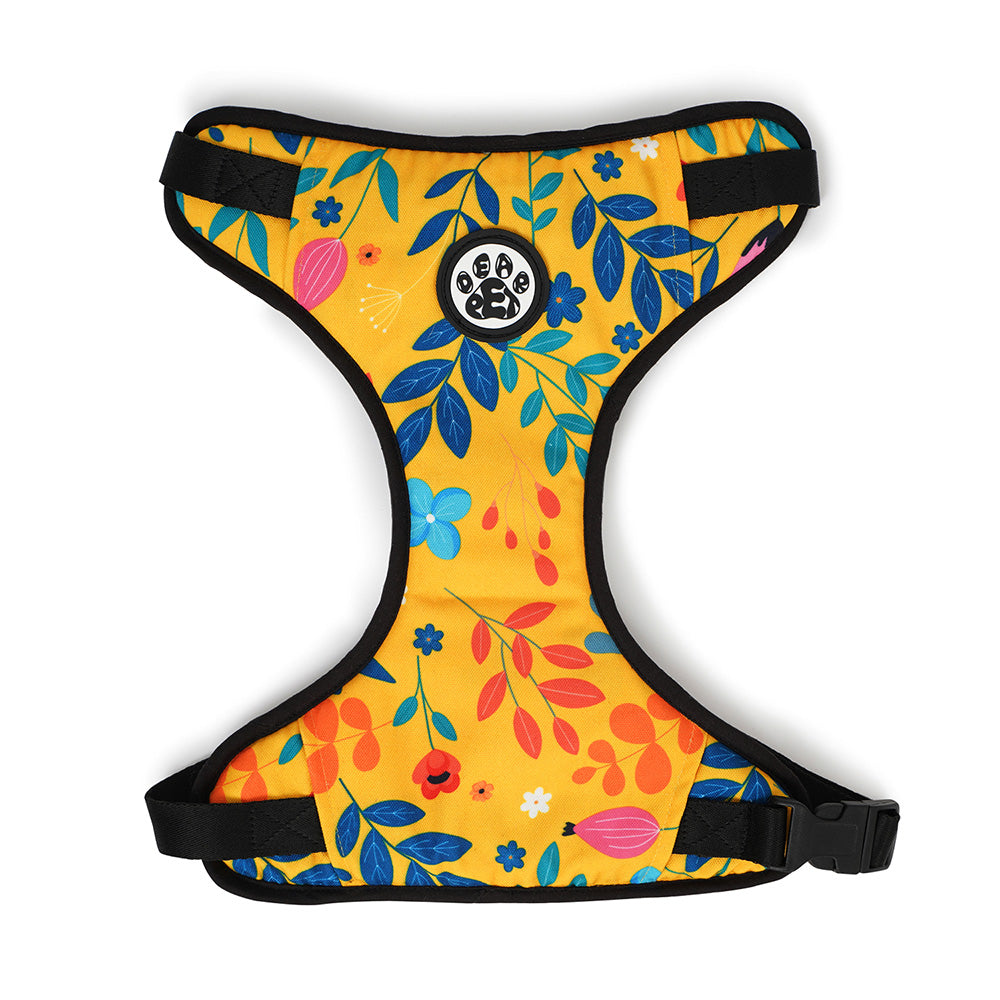 Dear Pet Blooming Yellow Dog Harness