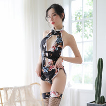 Sexy Cheongsam Dress Lingerie for Women Qipao Costume
