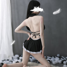 Lingerie Cosplay Costume Role Play Exotic French Apron Maid