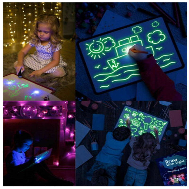 Kids Glowing Drawing Board