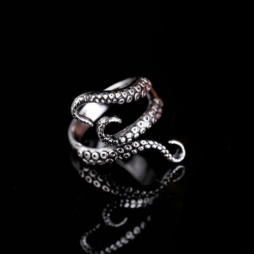 Kraken Tentacle Ring - Space and Fantasy