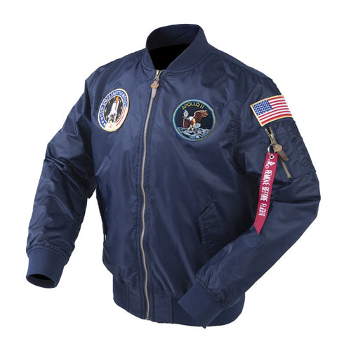 Apollo Space Shuttle Bomber Jacket - Space and Fantasy