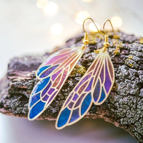 Fairy Wing Earrings - Space and Fantasy