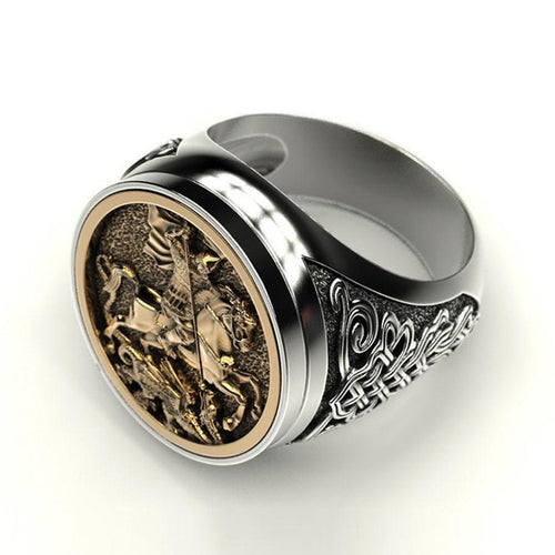 Roman Horseman ring - Space and Fantasy