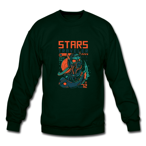 Star Traveler Crewneck Sweatshirt - Space and Fantasy