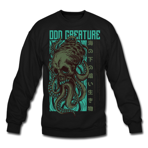 Odd Creature Crewneck Sweatshirt - Space and Fantasy