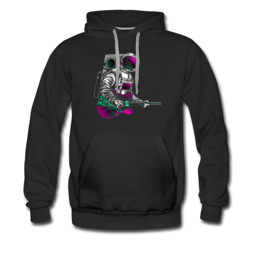Rocking Space Men's Premium Hoodie - Space and Fantasy