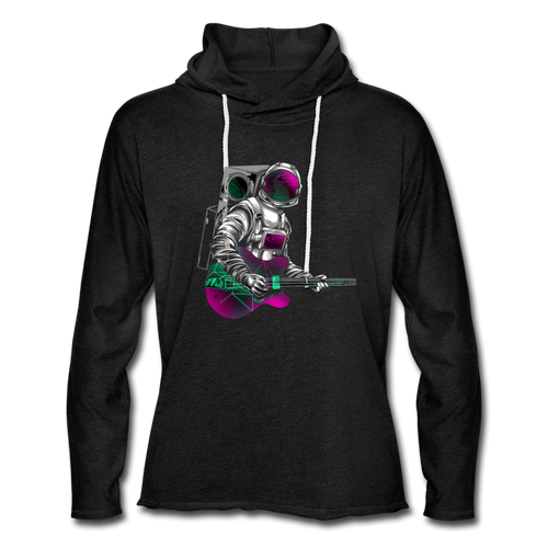 Rocking Space Unisex Lightweight Hoodie - Space and Fantasy