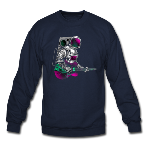 Rocking Space Crewneck Sweatshirt - Space and Fantasy