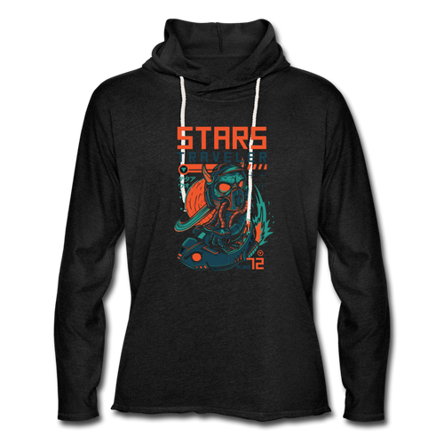 Star Traveler Unisex Lightweight Hoodie - Space and Fantasy