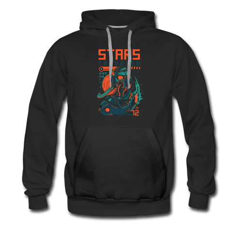 Star Traveler Men's Premium Hoodie - Space and Fantasy