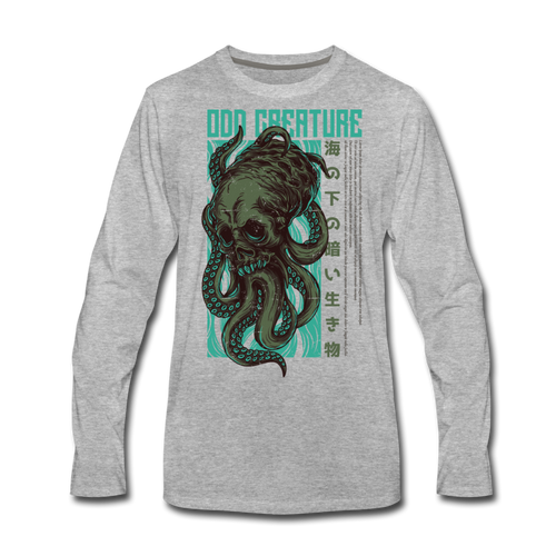 Odd Creature Men's Premium Long Sleeve T-Shirt - Space and Fantasy