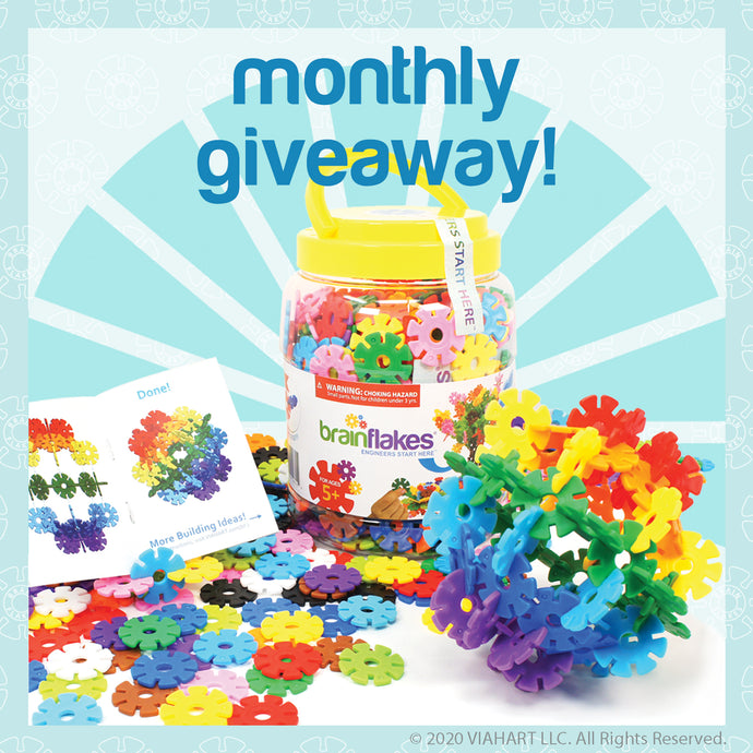 Brain Flakes® Monthly Giveaway