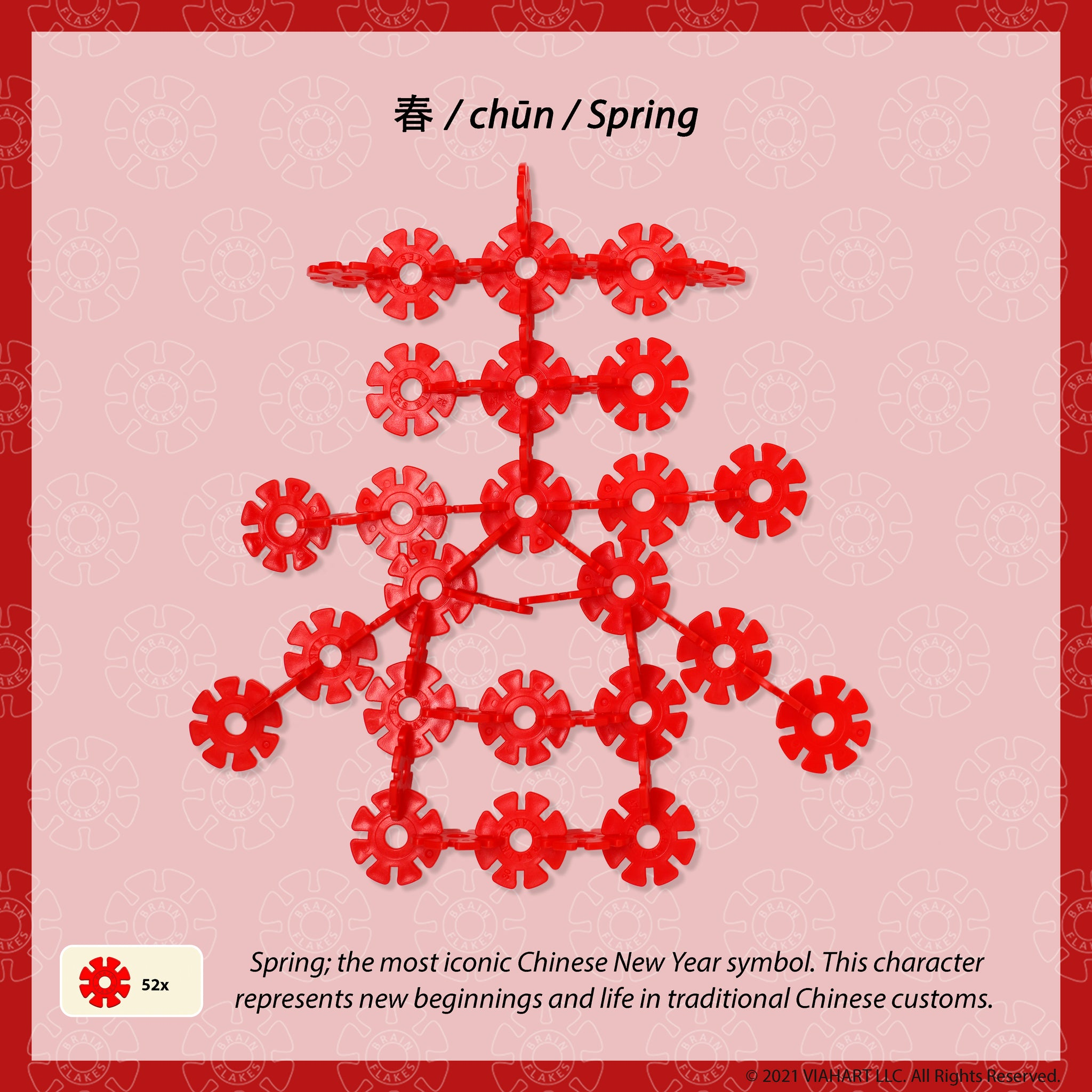 Brain Flakes Lunar New Year 2021 Building Guide spring
