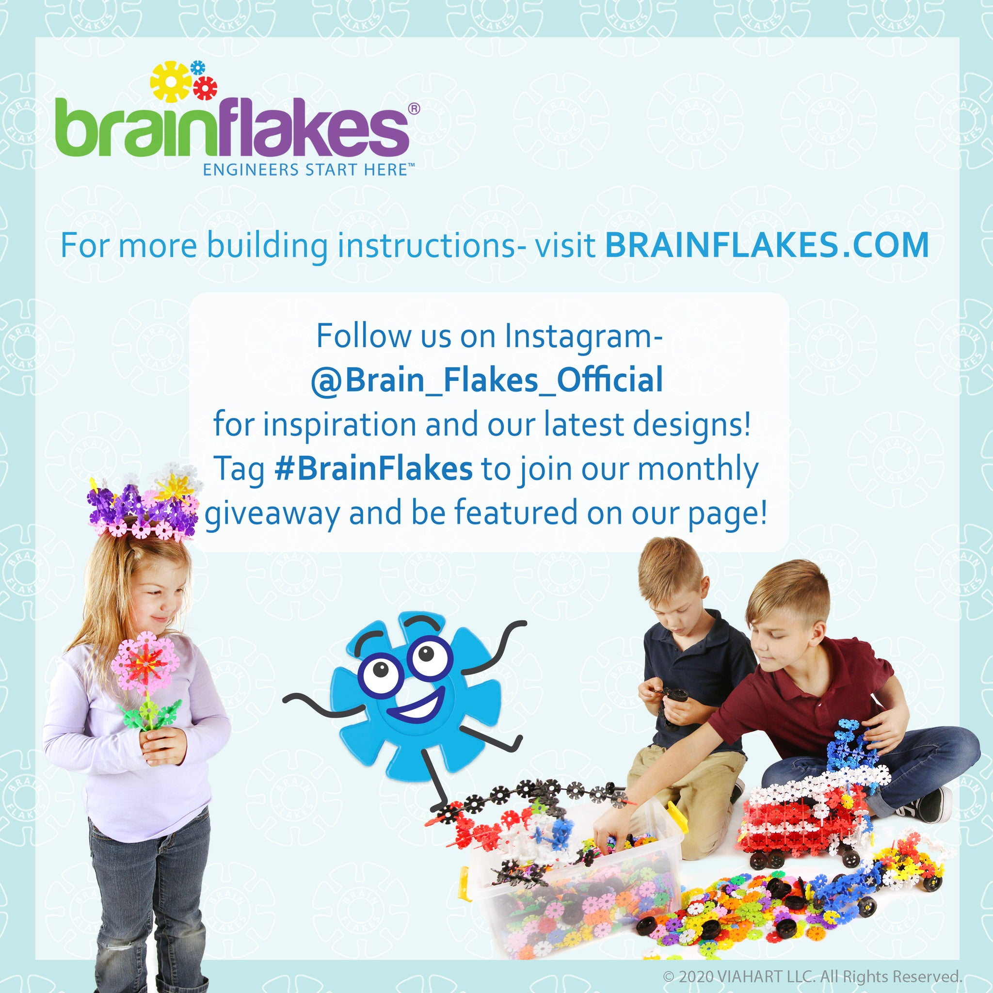 Brain Flakes Holiday Ornaments Building Guide