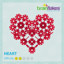 Load and play video in Gallery viewer, Brain Flakes® Heart Building Instructions | FREE