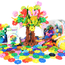 Load image into Gallery viewer, Brain Flakes® Flower Tree Building Instructions | FREE