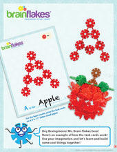 Load image into Gallery viewer, Brain Flakes® Alphabet Building Task Cards | Building Guide