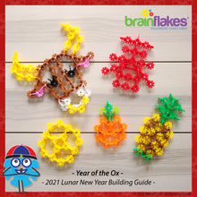 Load image into Gallery viewer, Brain Flakes® Lunar New Year 2021 Building Guide | FREE