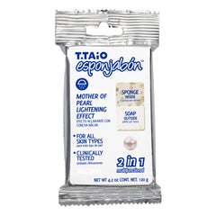 New packaging EsponJabon Mother of pearl, Lightning Effect by T.Taio
