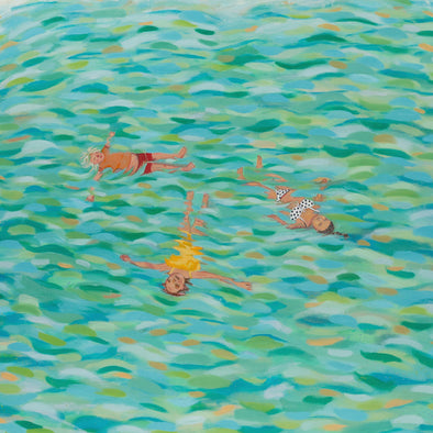 Coastal Bathers by Siobhan Purdy