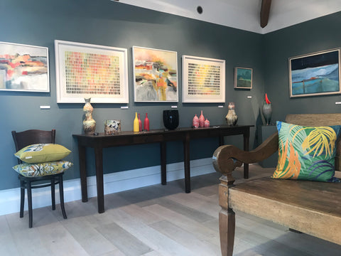 A Colourful Life - exhibition at the Byre Gallery, Cornwall