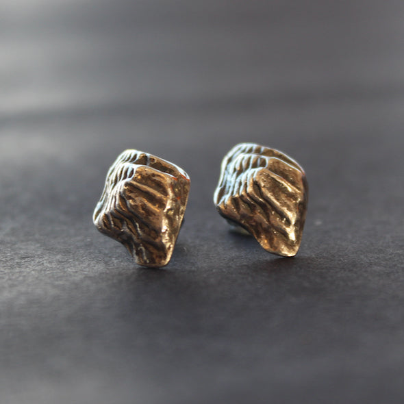 Lucy Spink - Topography stud earrings