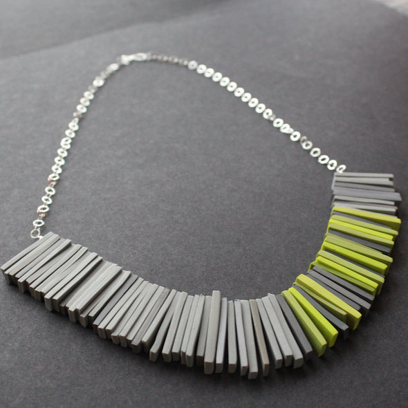 The Byre Gallery - Clare Lloyd - Modern Deco necklace