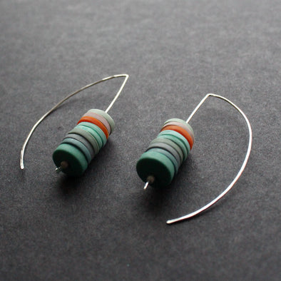 The Byre Gallery-Clare Lloyd-Stacked earrings