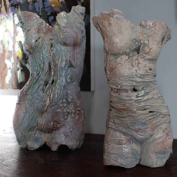 Pauline Lee - Textured Ceramic Torso (large)