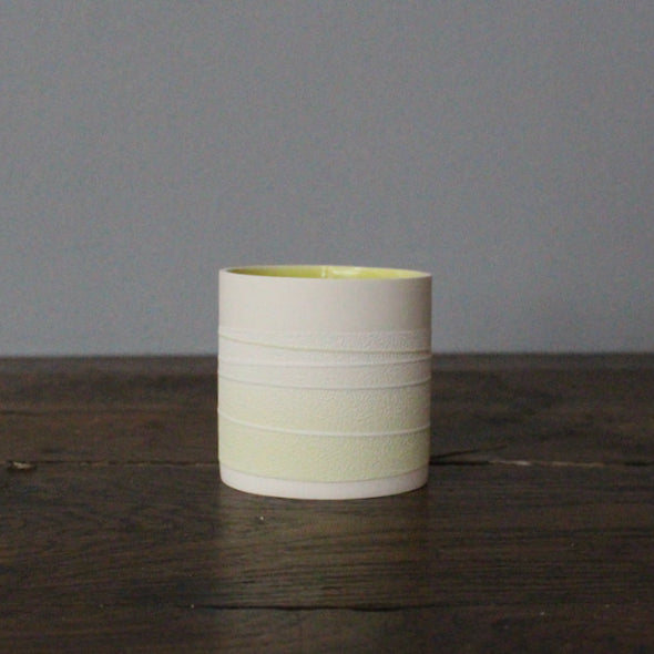 Small Pastel shade ceramic vessel by Rachel Foxwell