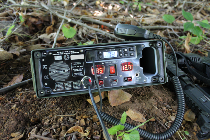 micromobile base station in retrofitted ammo can