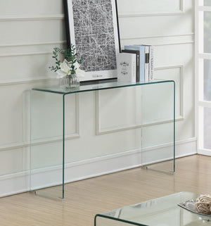 G705328 Contemporary Clear Sofa Table image