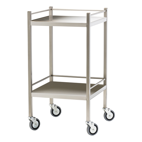 Stainless Steel Trolley with Rails
