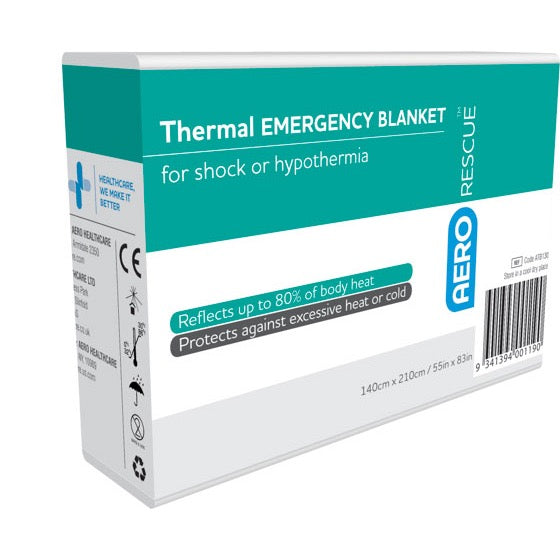 AeroRescue Emergency Thermal Blankets - Units of 1