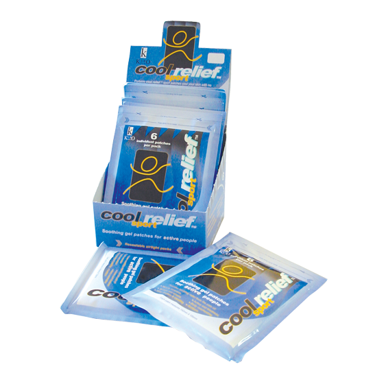 Cool Relief Cold Patches - Units of 10