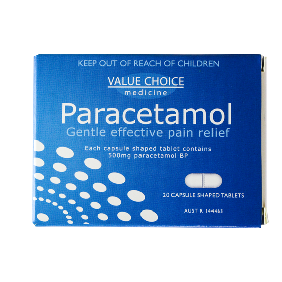 Paracetamol Tablets - Units of 12