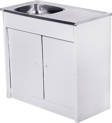 915mm x 460mm Knock Down Sink Unit