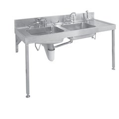 EC COMBINATION BEDPAN AND WASH-UP SINK