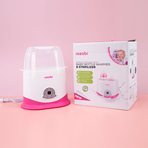 Baby Bottle Warmer And Sterilizer Razobi SuccessActive