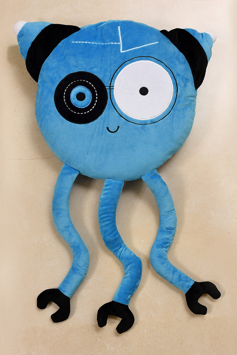 AB3144 STUFF TOY-MONSTER BLUE