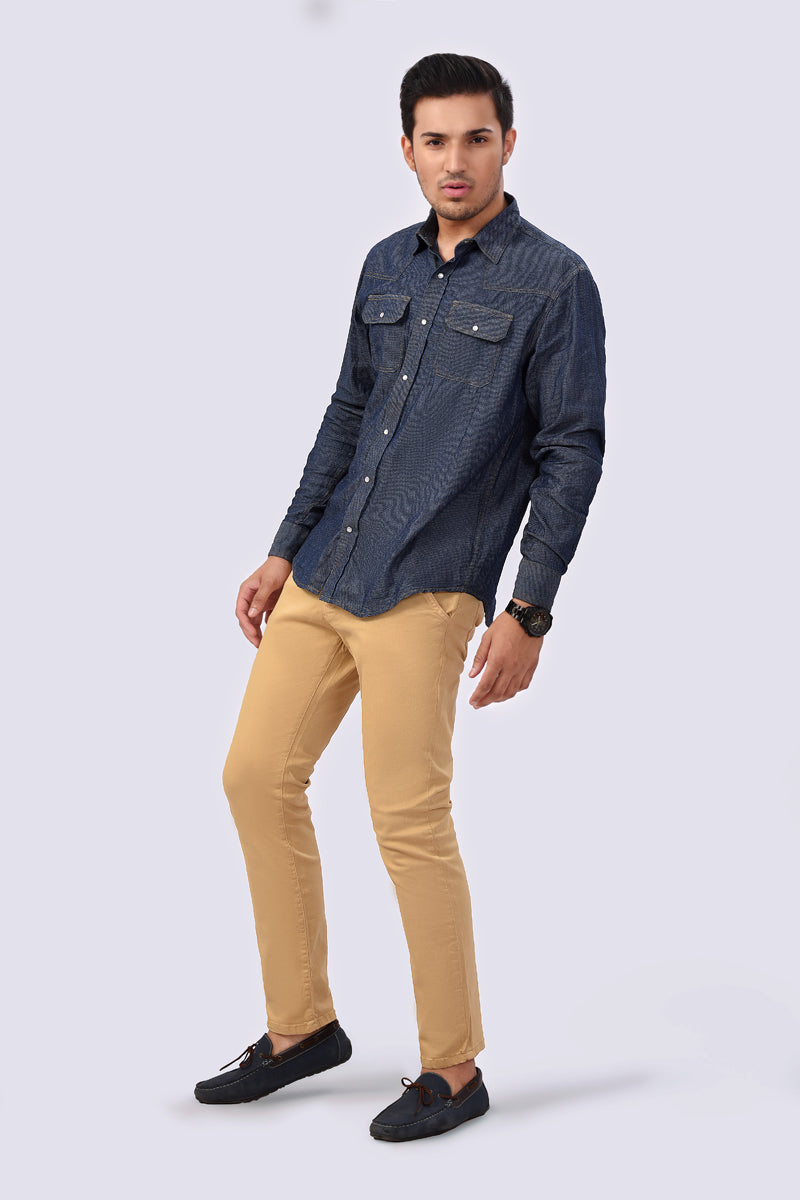 Fashion Shirt Blue