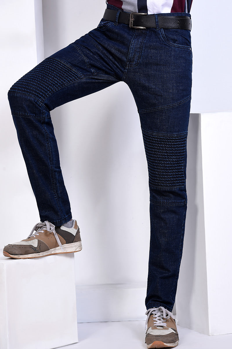 DENIM TROUSER M/BLUE