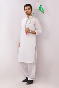 Shalwar Kameez Off White