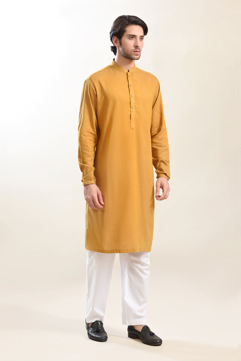Fashion Kurta Mustard