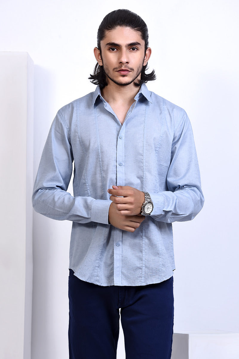 GTS-5988 FASHION SHIRT SKY