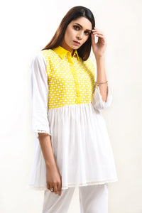 Pret Shirt Yellow/White