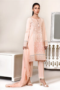 LDS-6099 3 PCS SUIT PEACH